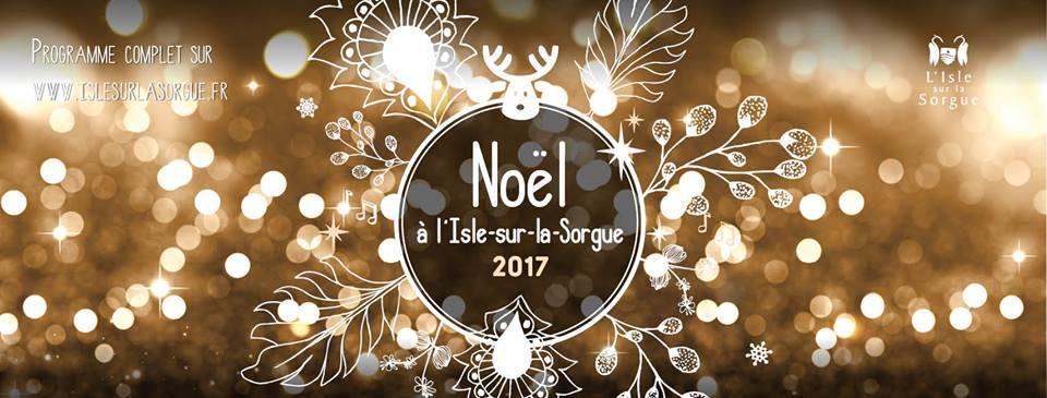 Fête des Lumières à L'Isle-sur-la-Sorgue le 9 décembre !