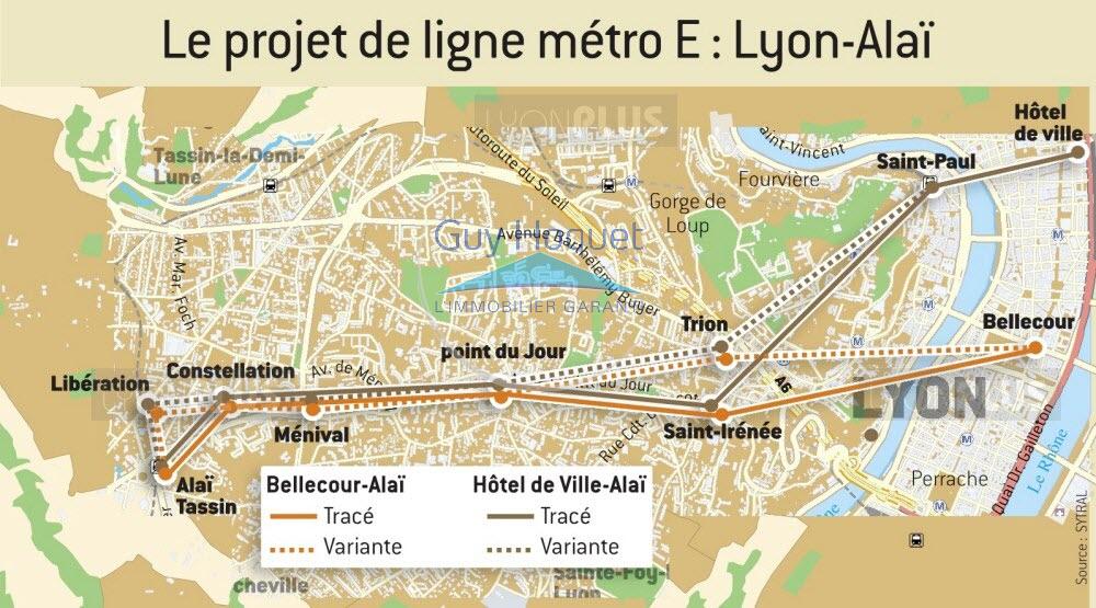 Ligne de métro E : concertation préalable