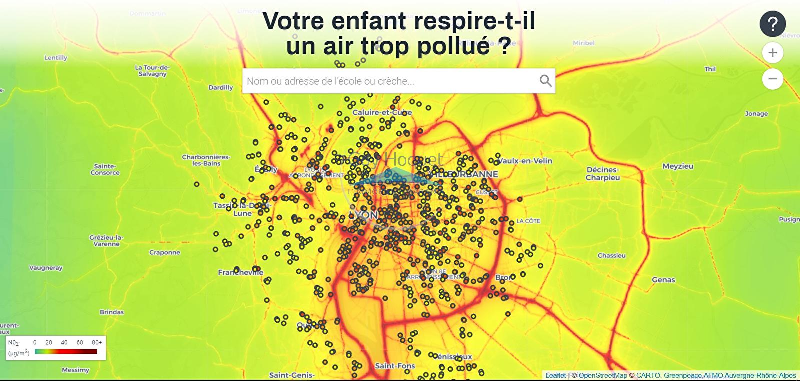 Lyon, la mauvaise qualité de l'air inquiète
