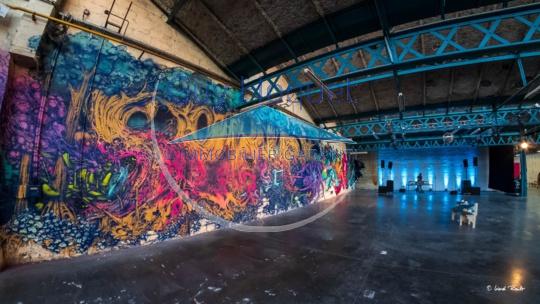 Des galeries d'art aux styles variés