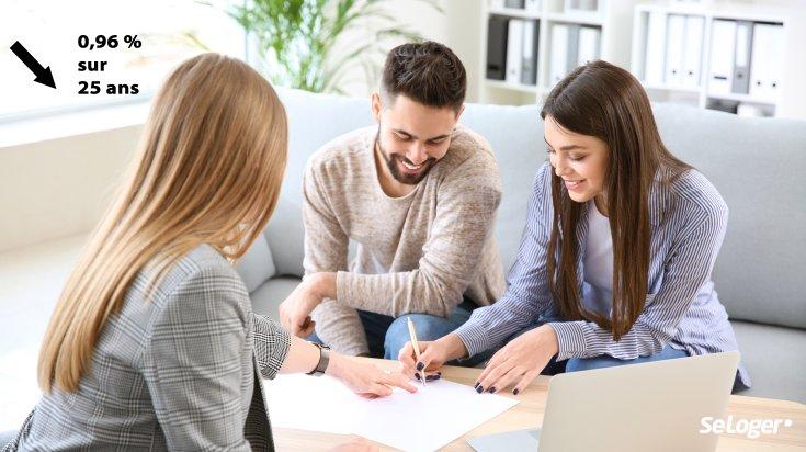 Crédit immobilier : les taux sous la barre de 1 % sur toutes les durées !