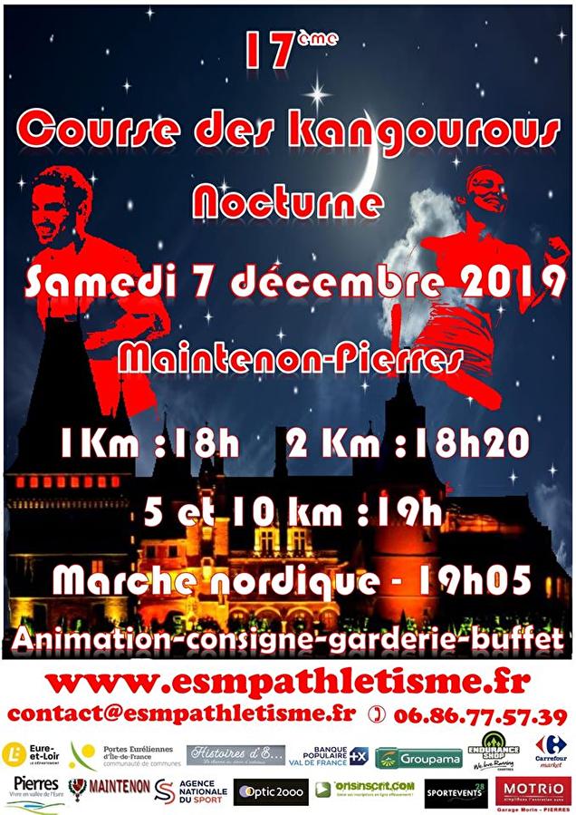 COURSE DES KANGOUROUS