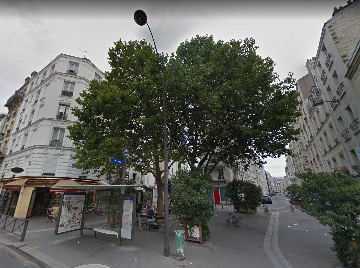 La rue de la Sablière va faire l'objet d'un réaménagement