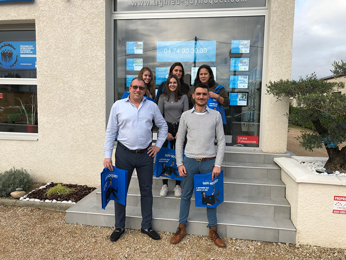 The team of TIGNIEU sales and rental