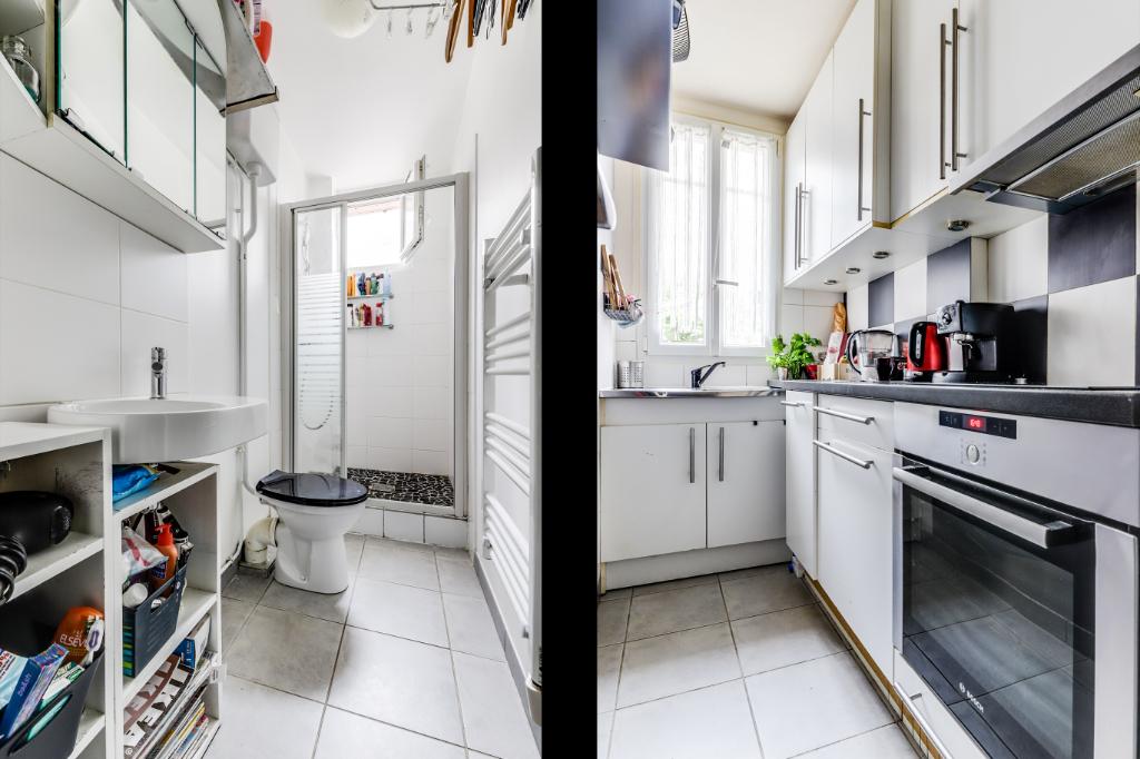 Vente Appartement de 2 pièces 35 m² - PARIS 75020 | 20ème APPART PYRÉNÉES - AR photo4