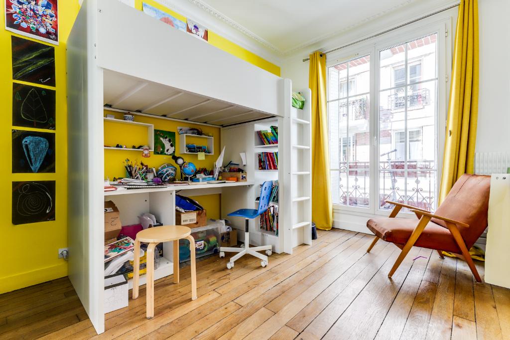 Vente Appartement de 3 pièces 48 m² - PARIS 75019   20ème APPART GAMBETTA - AR photo6