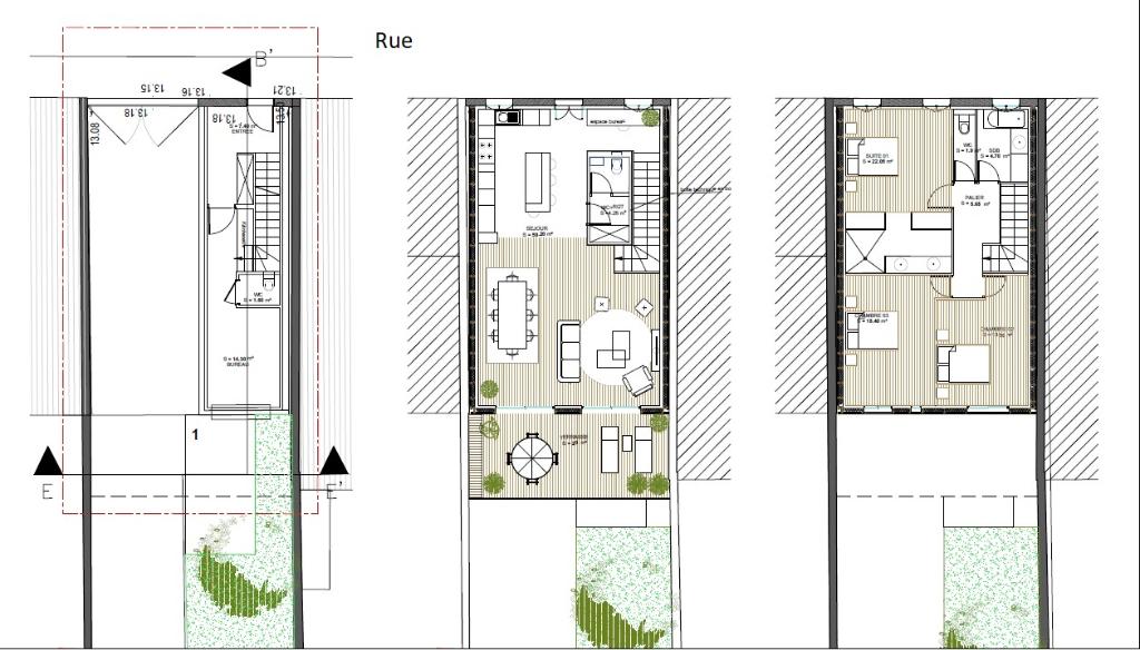 Deluxe sale loft/workshop/open plan Bordeaux 859500€ - Picture 3