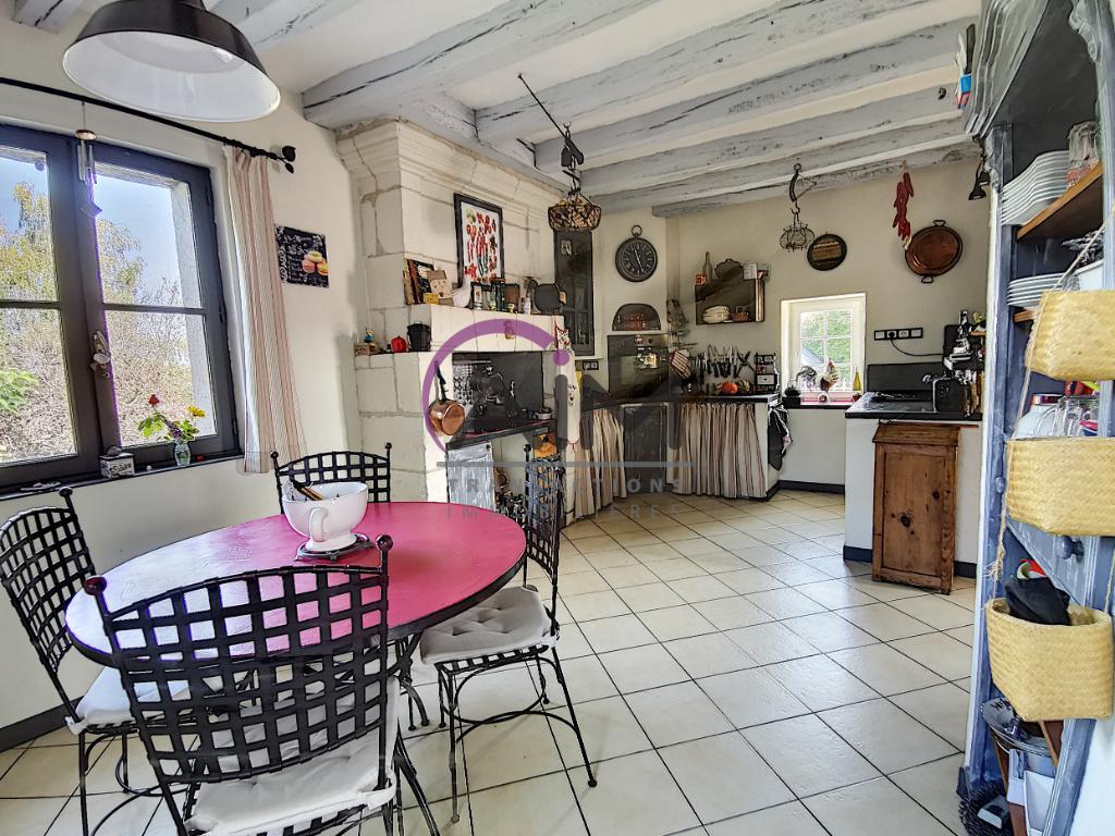 Sale house / villa La chapelle sur loire 319900€ - Picture 4