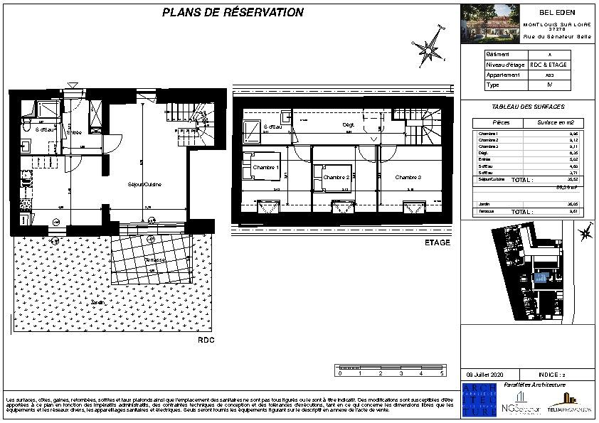 Venta  apartamento Montlouis sur loire 260000€ - Fotografía 2