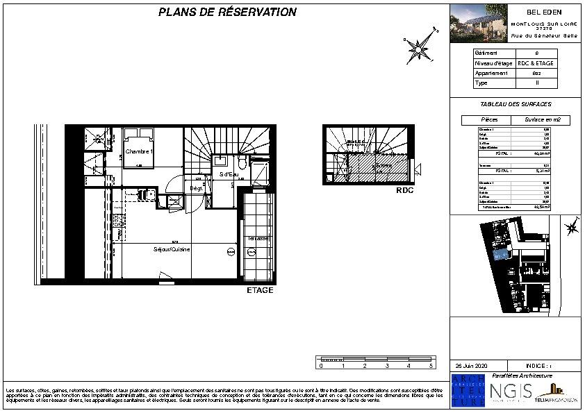 Venta  apartamento Montlouis sur loire 150000€ - Fotografía 2