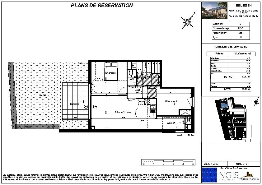 Sale apartment Montlouis sur loire 197000€ - Picture 2
