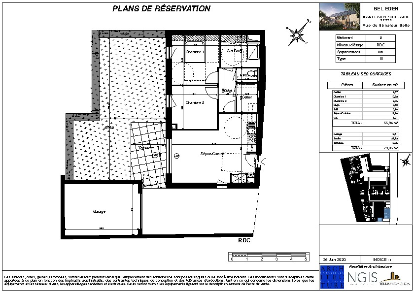 Venta  apartamento Montlouis sur loire 205000€ - Fotografía 2