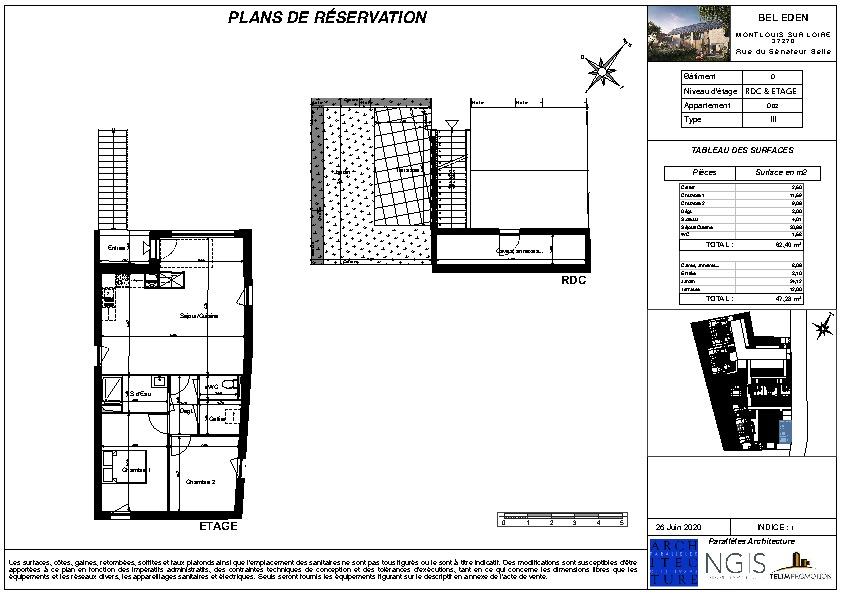 Sale apartment Montlouis sur loire 200000€ - Picture 2