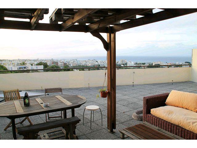 Appartement T1 avec grande terrasse - St Denis