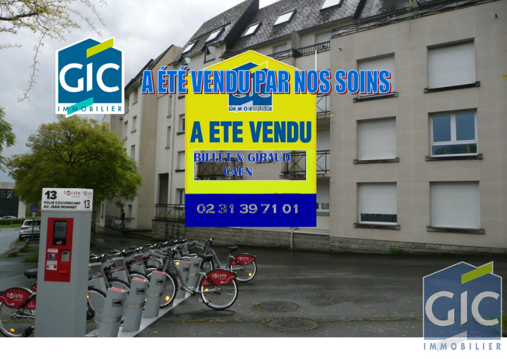 Appartement Caen 2 pièce(s) 28 m2
