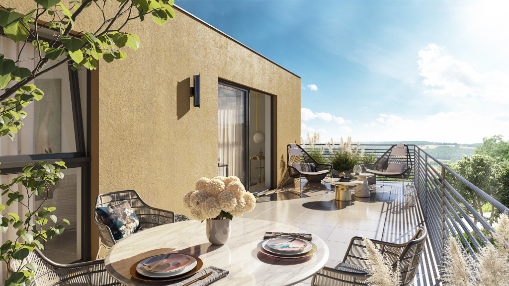 Vente appartement Villeneuve les avignon 180000€ - Photo 2