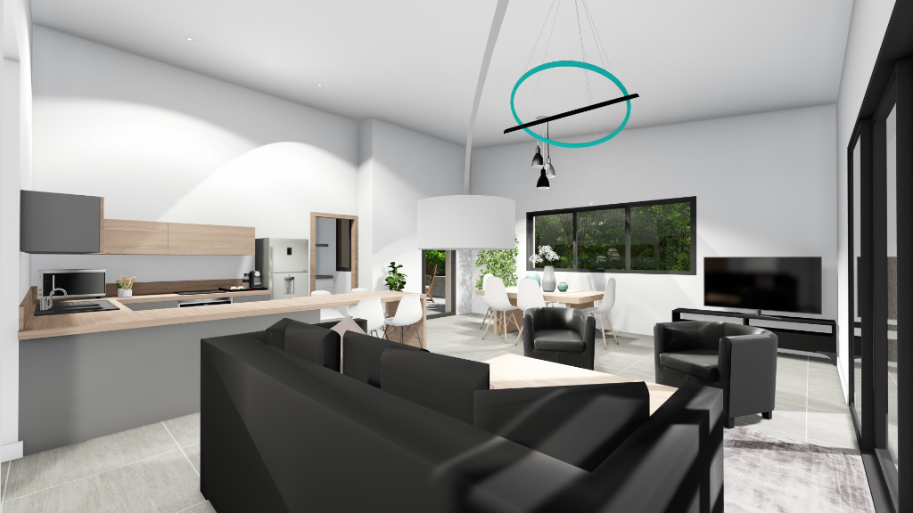 Vente appartement Les angles 435000€ - Photo 4