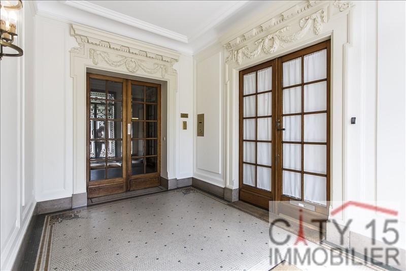 Vente appartement Paris 15ème 830000€ - Photo 2