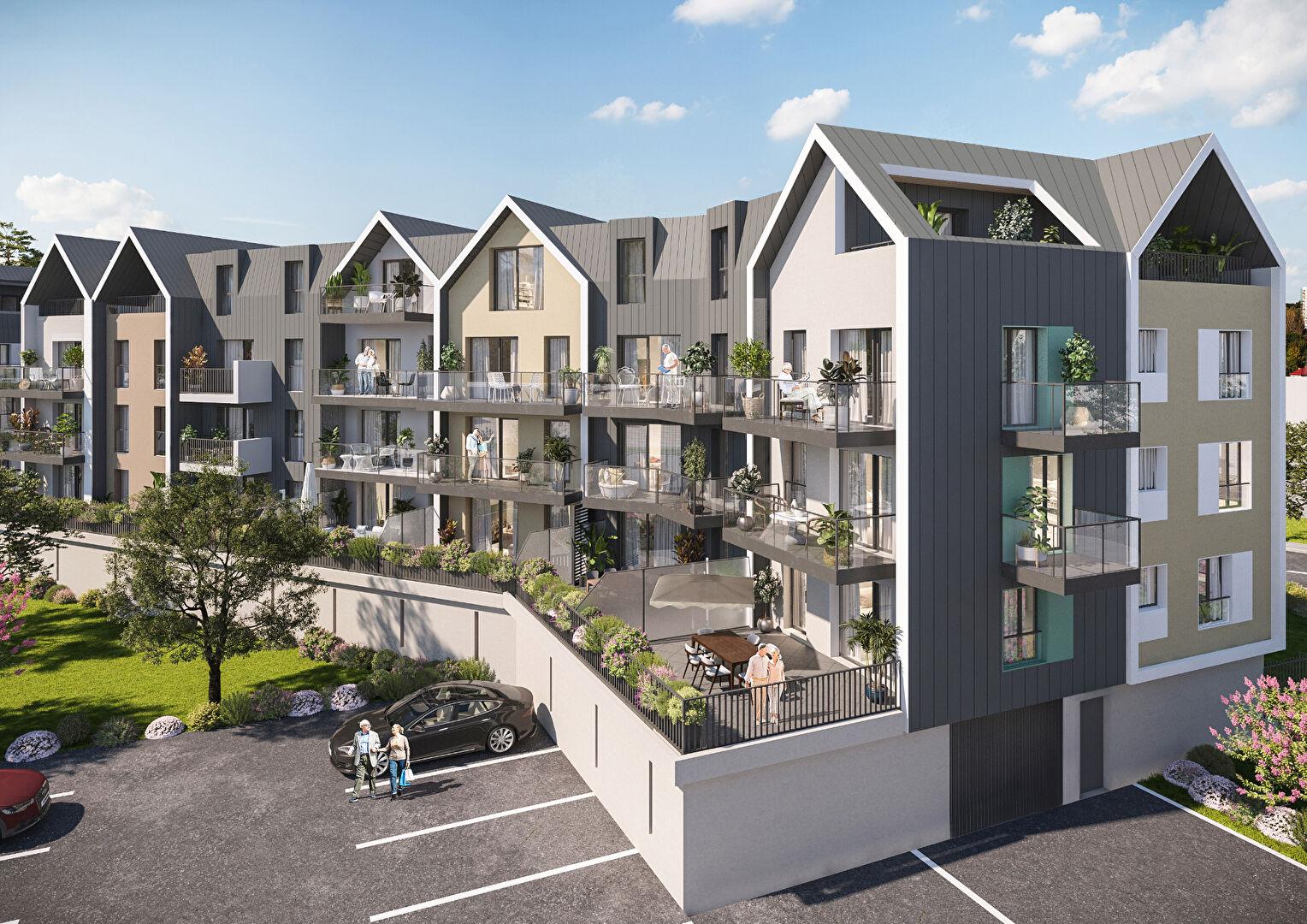 Appartement Courseulles Sur Mer 2 pièce(s) 47.69 m2