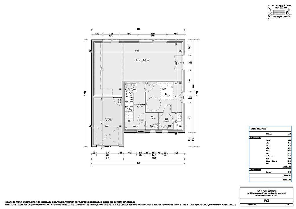 Venta  casa Lieuran les beziers 265500€ - Fotografía 3