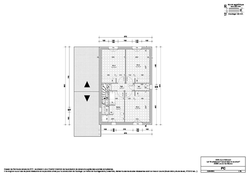 Venta  casa Lieuran les beziers 265500€ - Fotografía 4