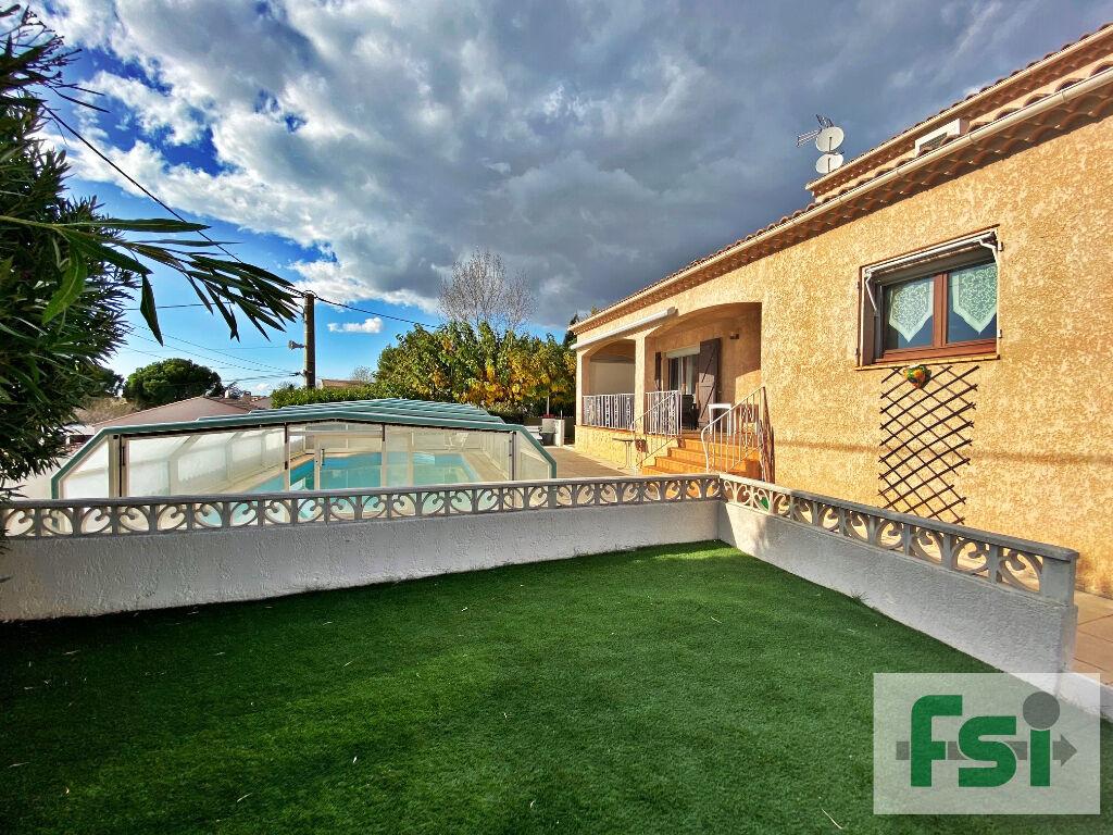 Sale house / villa Lespignan 372750€ - Picture 1