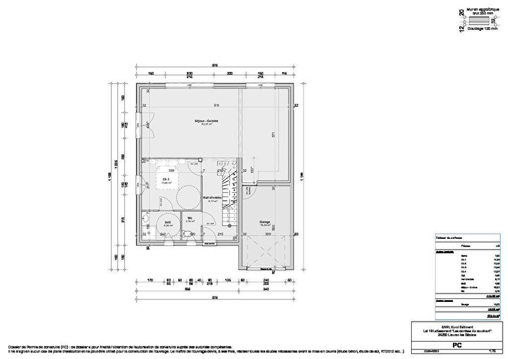 Venta  casa Lieuran les beziers 265500€ - Fotografía 2