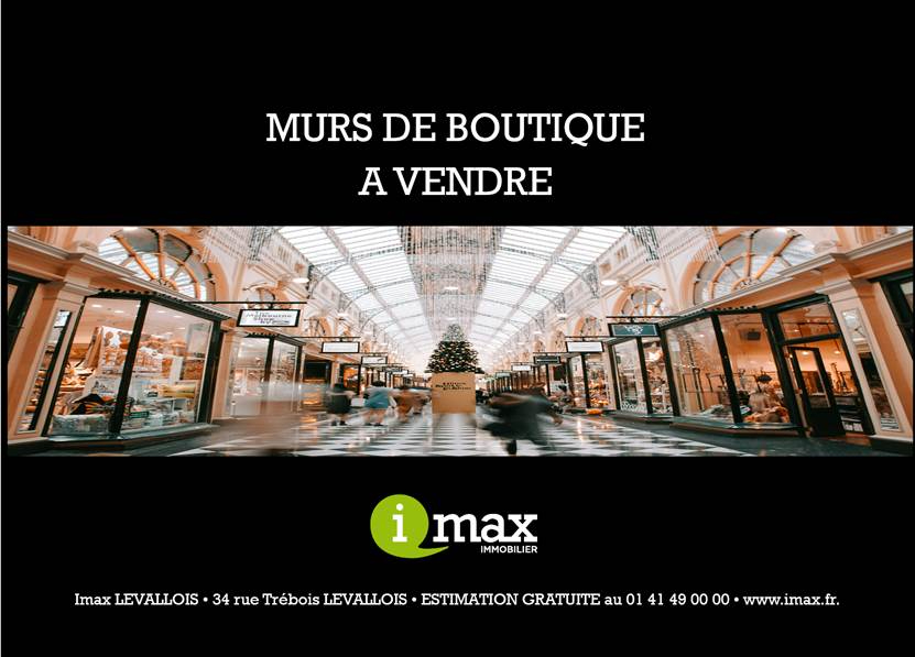 Vente local commercial Levallois perret 549 000€ - Photo 1