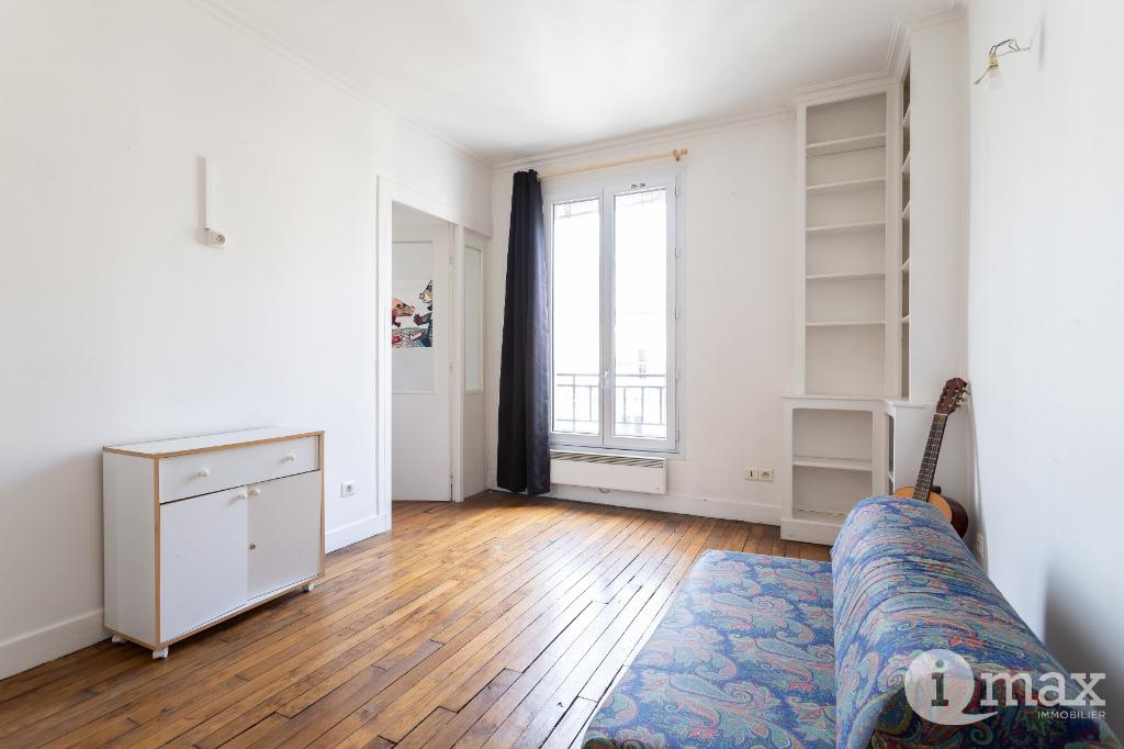 Paris 18ème - Rue Damrémont - 2 PIÈCES A L'AGENCEMENT OPTIMAL