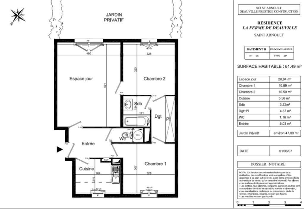Vente appartement Saint arnoult 384500€ - Photo 1