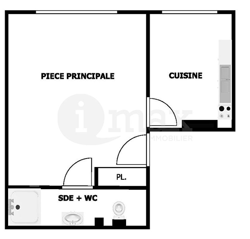 Vente appartement Clichy 150 000€ - Photo 4