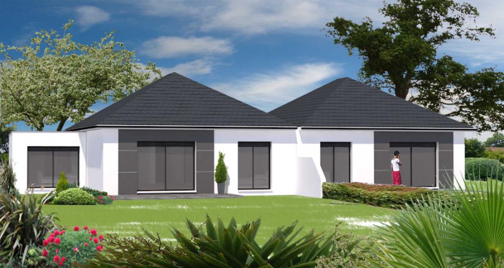 Maison plain pied neuve centre-ville Montardon