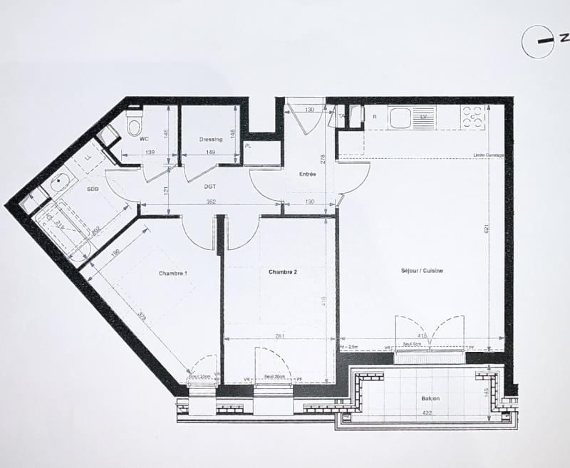 Antony - 65.16 m2