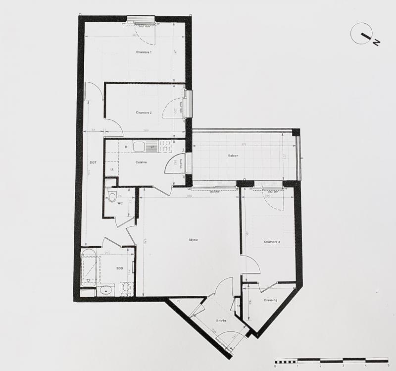 Antony - 84.53 m2