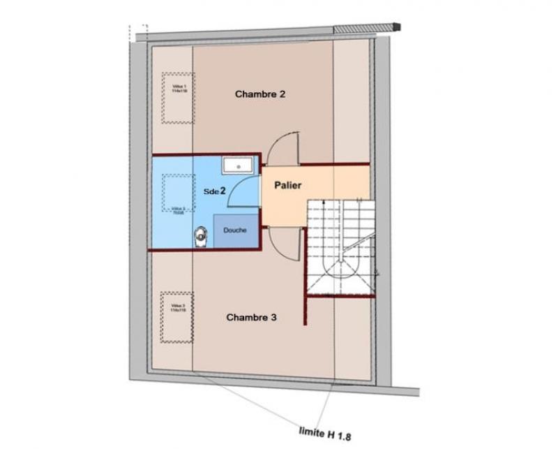 Vente appartement Le mans 295000€ - Photo 2