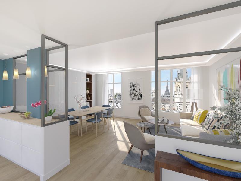 Paris - 3 pièce(s) - 65.6 m2 - 3ème étage