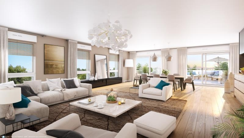 Appartement  mont st aignan - 5 pièce(s) - 114.16 m2 MONT ST AIGNAN - Photo 2