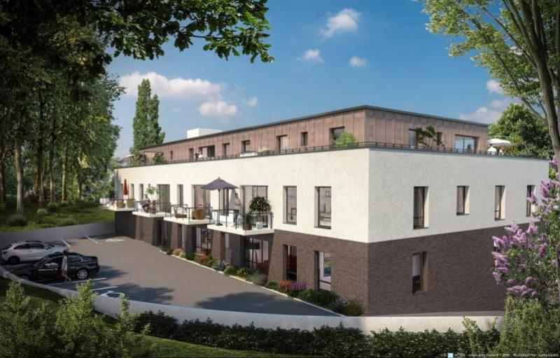 Appartement  mont st aignan - 2 pièce(s) - 45.66 m2 MONT ST AIGNAN - Photo 2