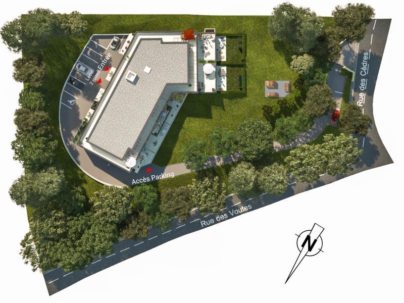Appartement  mont st aignan - 2 pièce(s) - 45.66 m2 MONT ST AIGNAN - Photo 3