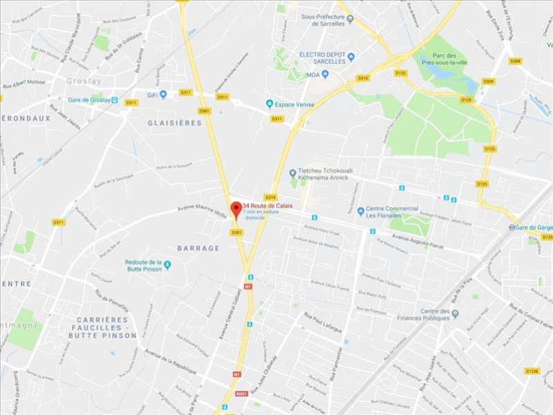 Location local commercial Sarcelles 250€ HC - Photo 1