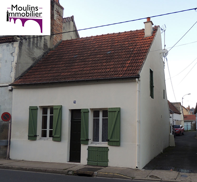 Moulins - Maison de ville 70m2 - Garage - Cour