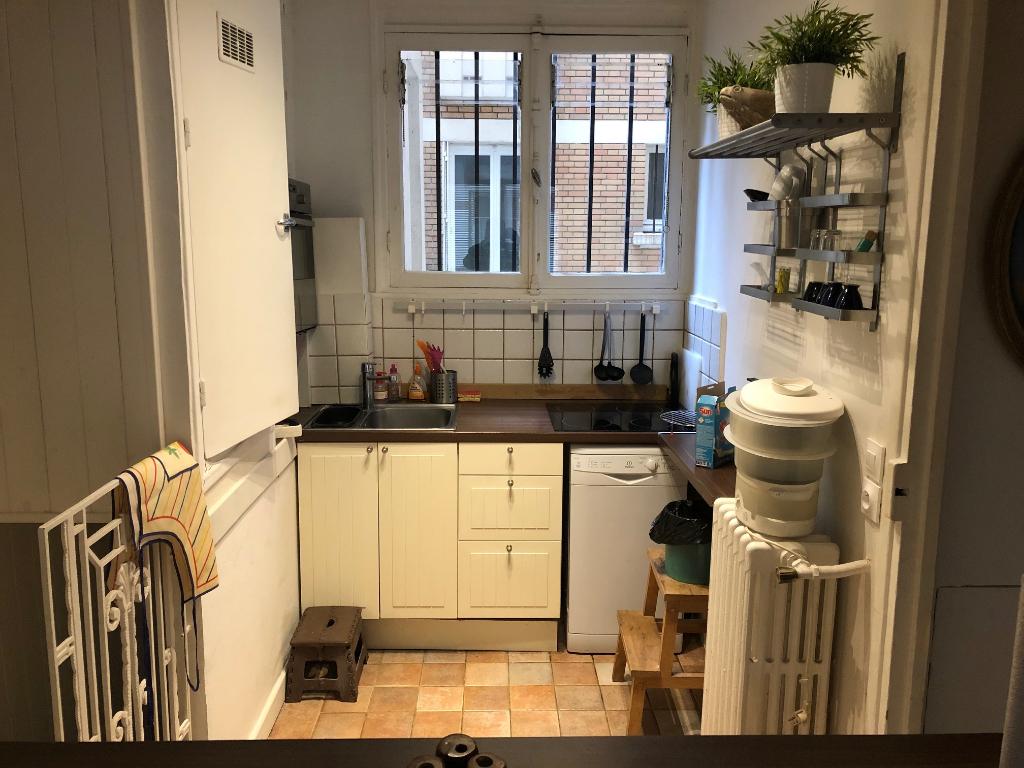 Rental apartment Paris 17ème 1350€ CC - Picture 3