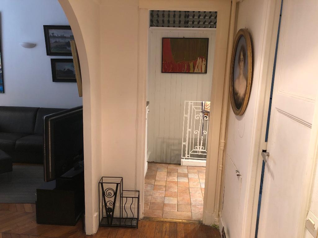 Rental apartment Paris 17ème 1350€ CC - Picture 4
