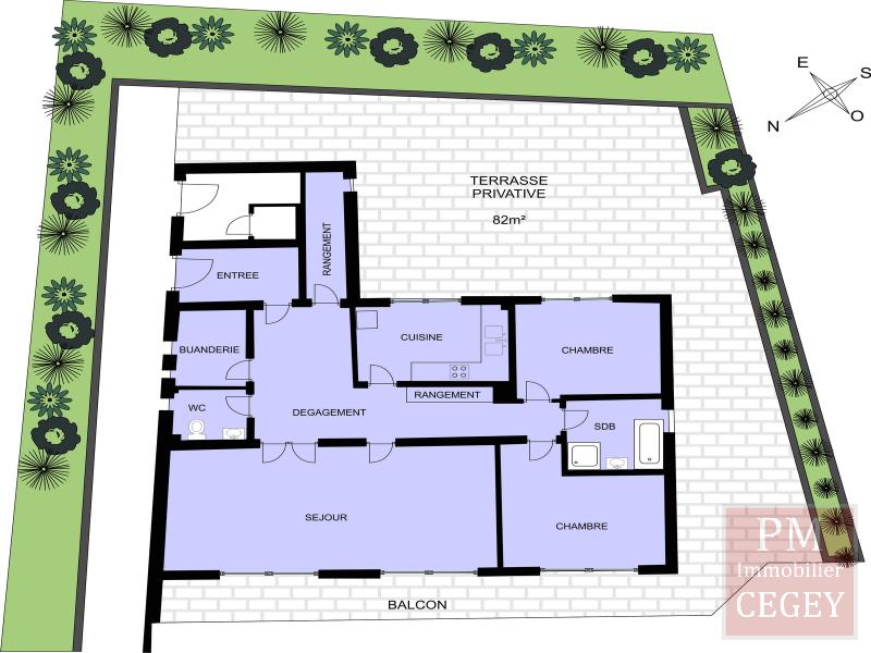 Vente appartement Montmorency 385000€ - Photo 2
