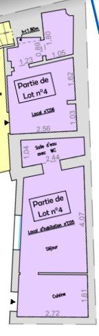 Appartements Rouen 2 pièce(s) 25 m2