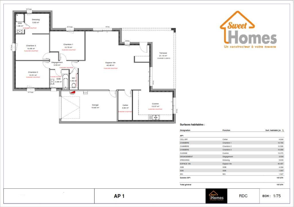 Vente maison / villa La verpilliere 356483€ - Photo 3