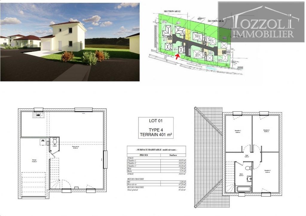 Vente maison / villa Rochetoirin 235053€ - Photo 2