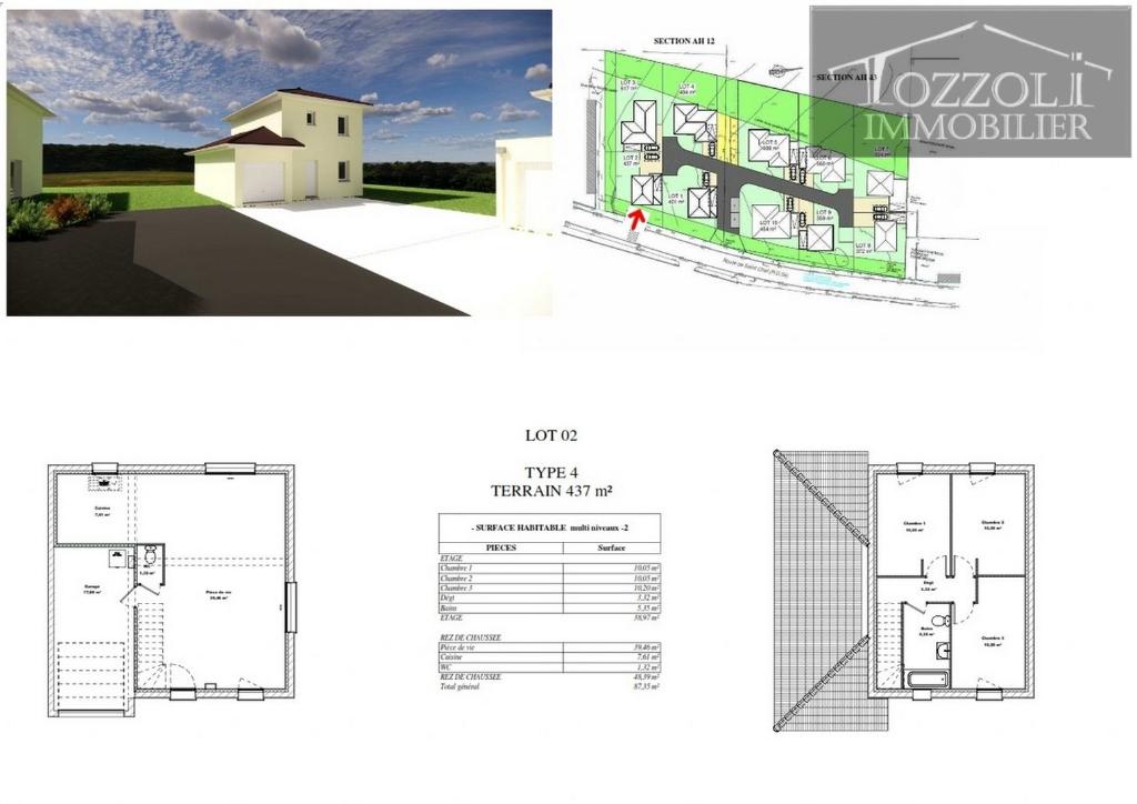 Vente maison / villa Rochetoirin 234544,29€ - Photo 2