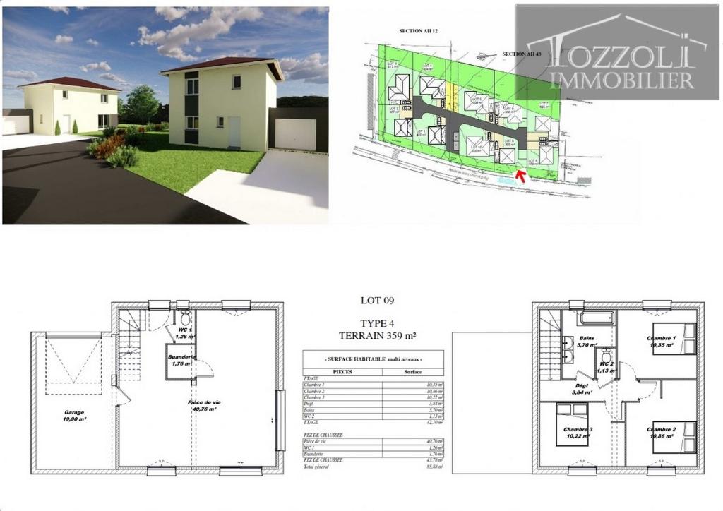 Sale house / villa Rochetoirin 242160€ - Picture 2