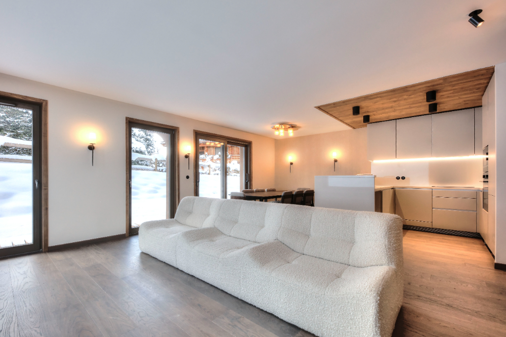 """Apartment """"Le 1307"""" - Megève - 3 rooms Accommodation in Megeve"""